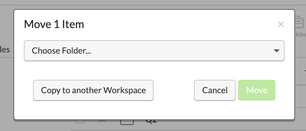 Copy to another workspace
