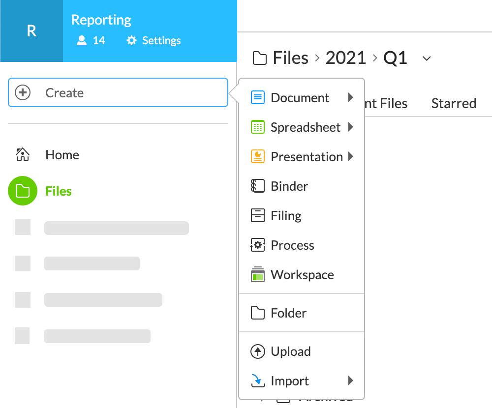 ファイルを作成する